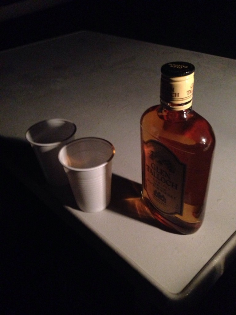 A single malt to warm up in the cold, wet evenings.